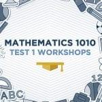 Mathematics 1010 MAM1010