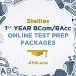 BCom BAcc Commerce Stellenbosch University